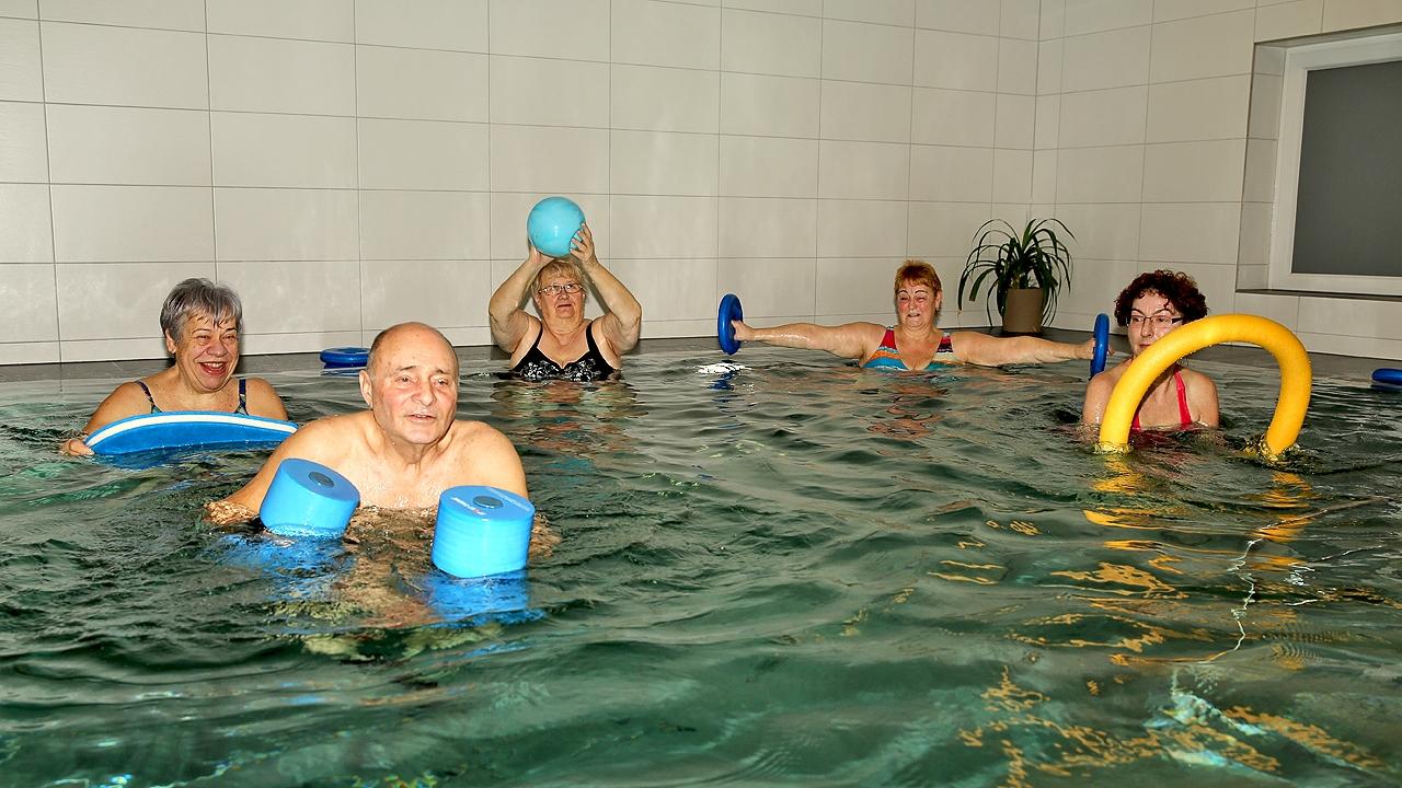 Physio GbR Müller- Lehmann- Müller --Reha-Sport im Wasser